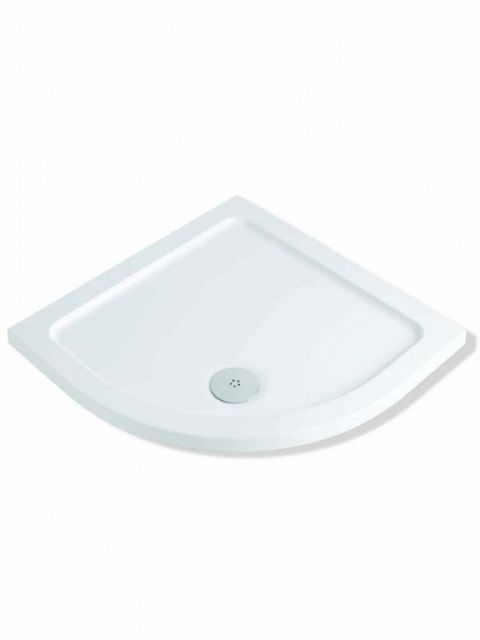 Mx Elements 900mm Quadrant Low Profile Tray TBO